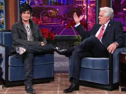 Adam Lambert on 'The Jay Leno Show'