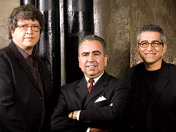 LatinWorks Ownership Team (from left): Sergio Alcocer, president-chief creative officer; Manny Flores, CEO-managing partner; and Alejandro Ruelas, CMO-managing partner