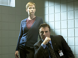 'Law & Order: Criminal Intent' overstuffs every show with a gaggle of fine actors, but gives them little to do beyond recite their stilted tough-guy talk.