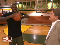 A '60 Minutes' profile of LeBron James helped CBS win in the ad-centric 18-to-49 demographic.