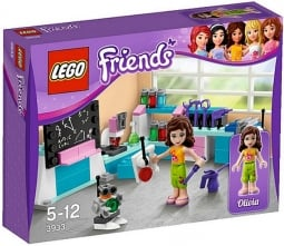 Lego late last year unveiled its line of Lego Friends aimed at girls.