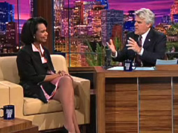 Former Secretary of State Condoleeza Rice appeared Tuesday evening on 'Tonight.'