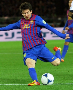 Soccer player Lionel Messi