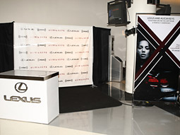 In exchange for the paid sponsorship, Lexus installed listening lounges at each concert venue.