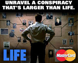NBC is working with MasterCard for a 'podbusting' experiment on the network's new series 'Life.'