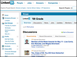 LinkedIn launched Custom Groups today.