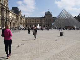 Arguably the world's most famous art museum, founded in 1933, the Louvre draws about 8 million visitors each year.