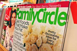 Meredith owns magazines including Family Circle and Better Homes & Gardens as well as local TV stations around the country.