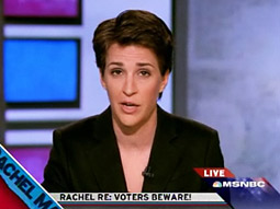 MSNBC made the biggest move during the election, launching 'The Rachel Maddow Show,' which beat its competition in the 25- to 54-year-old demo last week.