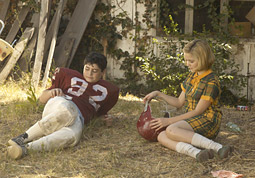 Sally Draper and Glen, the chubby stalker-ish neighbor boy, rendezvous.