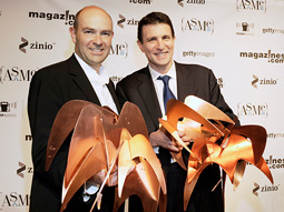 Wired Editor-in-Chief Chris Anderson and The New Yorker editor David Remnick