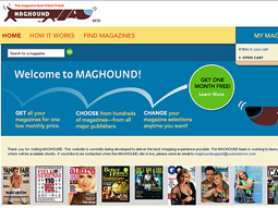 Maghound: Time Warner lets consumers pick different magazines each month.