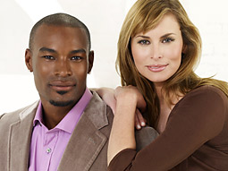 The hosts of 'Make Me a Supermodel,' Tyson Beckford and Niki Taylor