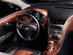Todd Turner, president of consultant CarConcepts, praised the Malibu's interior as 'gorgeous.'
