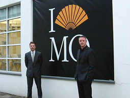 London Advertising execs Michael Moszynski and Alan Jarvie