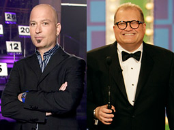 Barkers Howie Mandel and Drew Carey.