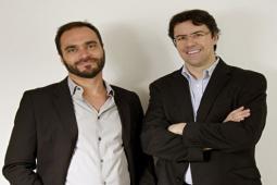 Marcelo Reis and Marcio Toscani