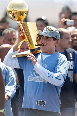 Mark Cuban: the sports world's next endorsement star?