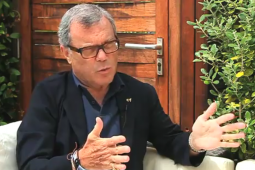Martin Sorrell at Cannes.
