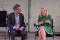 Fast Company Managing Director Robert Safian interviews Yahoo CEO Mariss Mayer during Advertising Week.