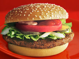McDonald's introduced the Big 'N' Tasty nationally in 2001.