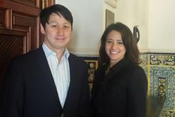 Merkle's Ron Park, VP-analytics, and Leah van Zelm, VP-digital strategy