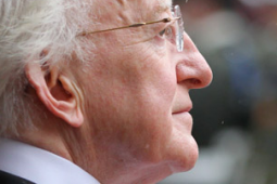 Michael Higgins, the president of Ireland
