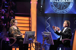 Regis Philbin was back as host of 'Who Wants to Be a Millionaire?'