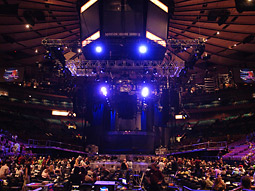 One media analyst said the deal is a positive for Live Nation, who hasn't been able to gain ticketing rights for venues it doesn't own or operate, including major indoor sporting arenas like Madison Square Garden.