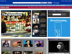 MySpace Music: Area has 30,000 members already.