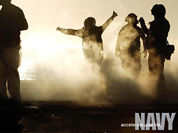 The Navy 'Accelerate your life' ad campaign won Best of Show late last fall in the D Show, a regional creative contest.