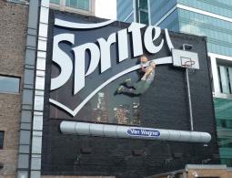 A Sprite billboard, created with Turner Duckworth.