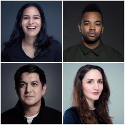 (Clockwise) Amee Shah, Anna Fine, Brand Pierce and Dino Sanchez.