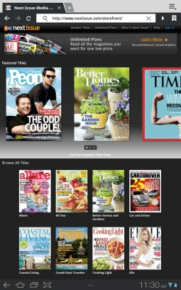 The Next Issue Media newsstand