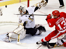 NBC scored a Tuesday night prime-time victory with Game Five of the Stanley Cup final which ended in a triple-overtime win for the Pittsburgh Penguins.