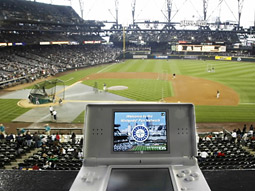 The 'Nintendo Fan Network' allows fans to get stats, player info, watch extra videos, order food and drinks and interact with each other during games.