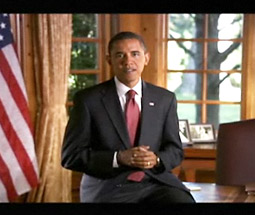Senator Obama's infomercial 'Barack Obama: American Stories,' which ran on CBS, Fox and NBC, beat 'America's Next Top Model' on the CW and ABC's 'Pushing Daisies.'