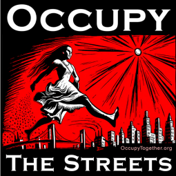 An Occupy Together poster