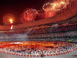 Beijing Olympics' opening ceremony