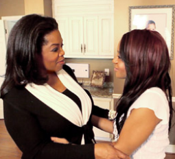 Oprah Winfrey and Whitney Houston's daughter Bobbi Kristina on a highly rated episode of 'Oprah's Next Chapter'