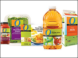Safeway's O Organics line consists of about 300 items in more than 30 categories.