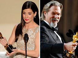 Sandra Bullock (left) and Jeff Bridges