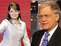 Sarah Palin and David Letterman