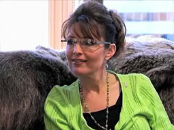 Sarah Palin, seen here on a recent episode of TLC's 'American Chopper,' will get her own Mark Burnett-supervised reality show.