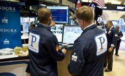Pandora on the trading floor.