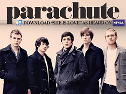 Parachute's first single has been downloaded more than 20,000 times on iTunes.