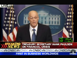 CNBC was at its best during a day when it's usually at its worst, with Treasury Secretary, Henry Paulson, taking time to discuss 'Black Sunday.'