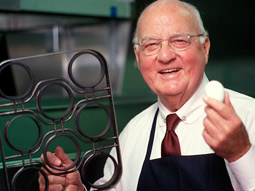Herb Peterson and a set of Teflon rings had had made to test the sandwich that became known as the Egg McMuffin.