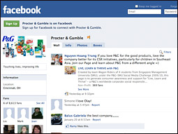 P&G's outlook on Facebook and social media as marketing tools appears rosier.
