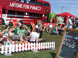Mother Experience also masterminded Pimm's headline sponsorship of the Latitude Festival in Suffolk this month, which included a Pimm's double-decker bus serving the drink.